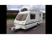 Abbey Adventura 315/2 berth caravan top of the range in excellent condition