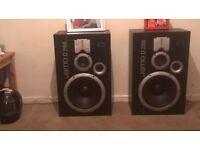 x2 jamos D266 very loud speakers