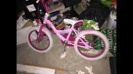 16 inch Angel pink bike £20
