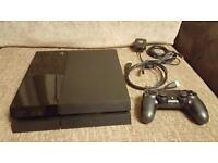 Playstation 4 500gb Black Jet with Fifa 16