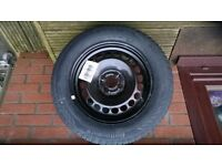 Vauxhall Corsa E full size wheel and Jack Kit 185/65 R15