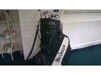 MacGregor Golf clubs and Bag