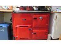 Rayburn Nouvelle oil fired Boiler/cooker