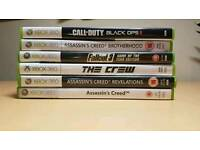 Xbox 360 games immaculate condition