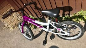 Halfords Girl's bike age 5-9. Perfect condition.