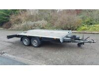 Boro car transport trailer