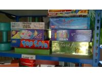 9 boxed board games