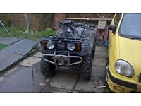 Yamaha grizzly 600 4x4 farm quad road registered may deal with a 2 stroke 250 motocross