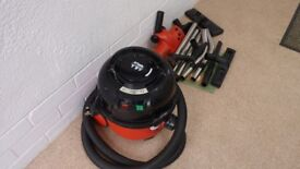 Henry vacuum Cleaner with spare heads and attachments