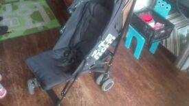Zeta cIty stroller pushchair good cond inc snuggle buggy liner
