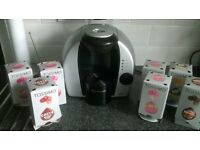 Tassimo coffee drinks machine and pods