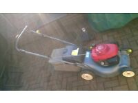Honda Izzy 415 Petrol Lawnmower, (BEST REVIEWED MOWER FOR YEARS) Can Ship UK