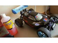 Rc nitro 1/8 kyosho buggy gzx 2.1 race engine