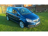7 Seater Vauxall Zafira very good condition