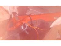 electric flymo leaf blower/vac