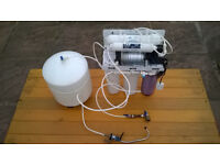 Reverse Osmosis Unit with Booster Pump