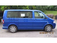 Volkswagen Caravelle 2.5L SE Tdi 174 - blue - MOTd Nov 17 - FSH - 2006 (55 plate)