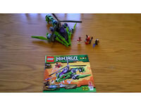 Lego Ninjago 9443 Rattlecopter Complete