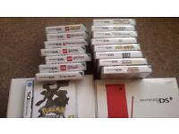 DS consoles and games