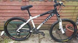 KONA SHRED Jump / Mountain Bike - Medium Frame £250 ono my swap for ps4 or xbox1