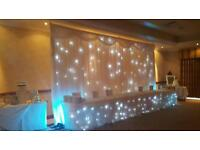 Starlight backdrop for sale, ideal wedding / party business investment