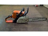 Stihl MS210C chainsaw