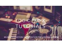 Music Production Lessons - LOGIC PRO X - 1:1 Tuition - Songwriting - Composing - Recording & Mixing