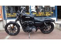 Harley Davidson Iron 883 Sportster Yr 2016 and comes with Warranty