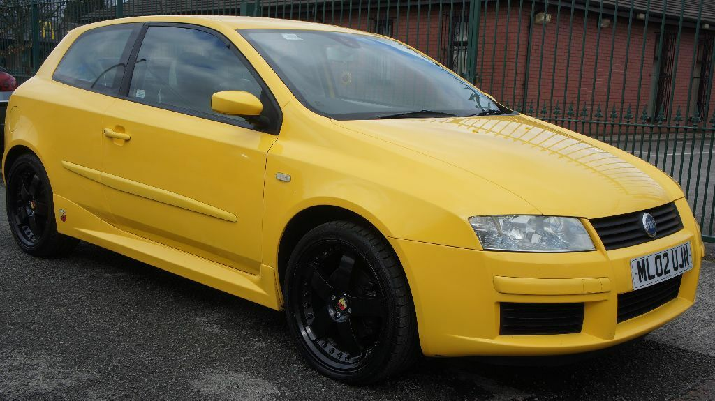 2002 fiat stilo abarth 3d yellow in newton heath manchester gumtree. Black Bedroom Furniture Sets. Home Design Ideas