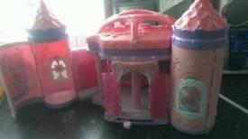 My little pony rainbow castle