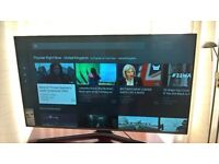 """Brand new Sasung 48"""" smart tv with stand and remote bargain!"""