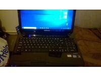 Medion Akoya Black Gloss Laptop, 15.6 inch, Intel I3, 4gig memory, HDMI, Wi-Fi, DVD/RW immaculate