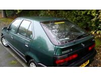1995 Renault 19 RN Biarritz Diesel for sale: MOT current, in daily use, 60 MPG, only £300