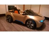 KIDS 'RIDE ON' ELECTRIC 'BMW 18 CONCEPT' GREAT FUN ! SOUNDS/LIGHTS, HALF PRICE! TEL.07803366789