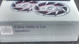 Ministry of Sound 4-way 350W in car Speakers