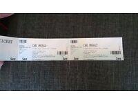 Caro Emerald - Royal Concert Hall Glasgow 31/03/2017 x 2 £40