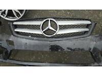 Mercedes benz w204 coupe facelift front bumper
