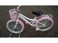 BOYS AND GIRLS MOUNTAIN BIKES BOTH HAVE 12 INCH FRAMES see all pic