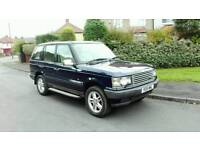 2001 RANGE ROVER P38 2.5 DHSE AUTO BLUE FULL MOT F.S.H EXCELLENT CONDITION SUPERB DRIVE LOVELY 4X4