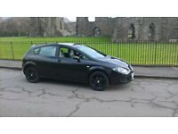 2007 SEAT LEON REFERENCE BLACK PETROL 1.6