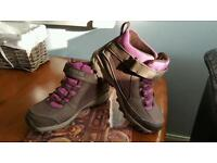 Girls nearly new walking shoes size 12