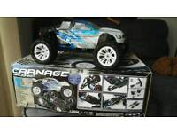 Rc truck FTX 5538 Carnage Brushed Truggy
