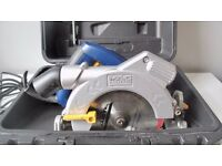 MacAllister Circular Saw mCS1200L rarely used - blade as new