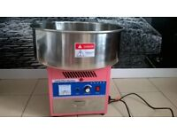 LARGE HEAVY DUTY CANDY FLOSS MACHINE WITH LIGHTS AND SOUNDS
