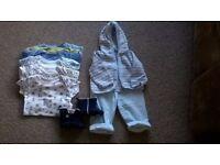 Baby boy clothes bundles. 0-3, 3-6, 6-9 etc month bundles available. £10 each. Good quality.