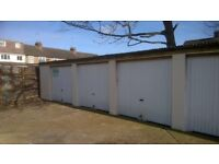 Secure gated site, cheap lockup garage for storage of household or vehicle 24/7 access in Luton.