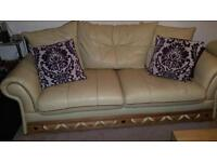 Sofas 3 and 2 Seater Leather FREE