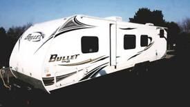 Key Stone Ultra Lite Bullet touring Caravan
