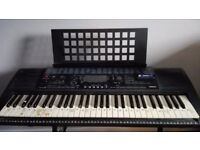 Yamaha keyboard great condition with stand and chair