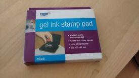 Ink Pad (Large, Black, Gel ink stamp pad) £3 (original price £5.99)